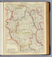 Russia. No. 5. Letts's popular atlas. Letts, Son & Co. Limited, London. (1883)