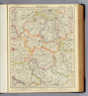 Russia. No. 6. Letts's popular atlas. Letts, Son & Co. Limited, London. (1883)