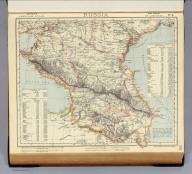 Russia. No. 9. Letts's popular atlas. Letts, Son & Co. Limited, London. (1883)