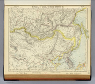 Russia in Asia, Chinese Empire, etc. No. 3. Letts's popular atlas. Letts, Son & Co. Limited, London. (1883)