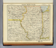 Eastern United States. No. 5. Letts's popular atlas. Letts, Son & Co. Limited, London. (1883)