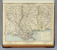 Eastern United States. No. 9. Letts's popular atlas. Letts, Son & Co. Limited, London. (1883)