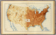 20. Distribution of the population of the United States: 1890. Julius Bien & Co. Lith., N.Y. (1898)