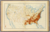 29. Distribution of the colored population of the United States: 1890. Julius Bien & Co. Lith., N.Y. (1898)