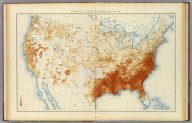 30. Proportion of the colored to the aggregate population: 1890. Julius Bien & Co. Lith., N.Y. (1898)