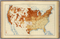 33. Proportion of the foreign-born to the aggregate population: 1890. Julius Bien & Co. Lith., N.Y. (1898)