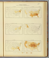 Interstate migration, density of the natives of the several states: 1890. 74. Delaware. 75. District of Columbia. 76. Florida. 77. Georgia. 78. Idaho. 79. Illinois. Julius Bien & Co. Lith., N.Y. (1898)
