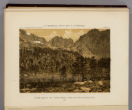 Alpine Lake in the Sierra Nevada, near Camp Independence, Cala. 1871. U.S. Geographical Surveys West of the 100th Meridian. (1889)