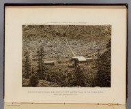 Kearsarge Mining Works, Kearsarge District, eastern flank of the Sierra Nevada, near Camp Independence, Cala. 1871. U.S. Geographical Surveys West of the 100th Meridian. (1889)