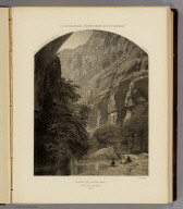 Dripping Pool, Kanab Canyon, near the Colorado. 1872. U.S. Geographical Surveys West of the 100th Meridian. Sinclair & Son. (1889)