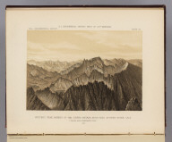 Whitney Peak, highest of the Sierra Nevada, near head of Kern River, Cala. Called also Fisherman's Peak. 1875. U.S. Geographical Surveys West of the 100th Meridian. (1889)