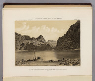 Black Canon, Colorado River, from Camp 8, looking above. 1871. U.S. Geographical Surveys West of the 100th Meridian. (1889)