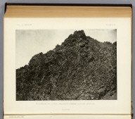 Cleavage in lava, Meadow Creek Canyon, Nevada. (1875)