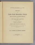 Title Page: Report U.S. Geog. Surveys West of the 100th Meridian v. 2.