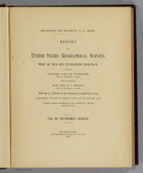 Title Page: Report U.S. Geog. Surveys West of the 100th Meridian v. 3 supplement.