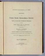 Title Page: Report U.S. Geog. Surveys West of the 100th Meridian v. 4.