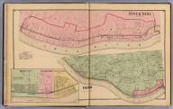 River Side. (with) Delhi. (with) Home City, Delhi Subd'n, Industry. (1869)