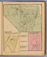 Glendale, Springfield Township. (with) Hartwell, Springfield Township. (with) Pleasant Ridge. (1869)