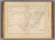 Australia. Settled part of and New South Wales, 1840. E. Tappan engr. (Philadelphia: Lea & Blanchard. 1845)