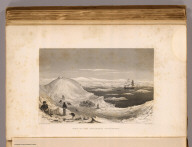 View of the Antarctic Continent. From a sketch by C. Wilkes, U.S.N. Eng. by Jordan & Halpin. (Philadelphia: Lea & Blanchard. 1845)