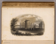 Tomb of a New Zeland (sic) chief. (Sketched by) A.T. Agate. (Engraved by) Jordan & Halpin. (Philadelphia: Lea & Blanchard. 1845)