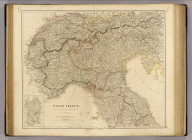 North Italy &c. and the passes of the Alps & Apennines, by J. Arrowsmith. (with) Sardinia. London, pubd. 15 Feby. 1834 by J. Arrowsmith, 35 Essex Street, Strand.
