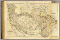 Central Asia, comprising Bokhara, Cabool, Persia, the River Indus, & countries eastward of it. Constructed from numerous authentic documents, but principally from the original M.S. surveys of Lieut. Alex. Burnes, F.R.S. to whom this map is most respectfully dedicated, by his obliged servant, J. Arrowsmith. June 1834. London, pubd. 16 June by J. Arrowsmith, 35 Essex Street, Strand.