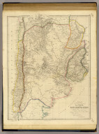 This map of the United Provinces of La Plata, the Banda Oriental, & Chile, is drawn principally from M.S.S. furnished by Woodbine Parish, Esqr., F.R.S., many years H.M. Consul General & Charge d'Affaires at Buenos Ayres, to whom it is dedicated by his obliged servant J. Arrowsmith. London, pubd. 15 Feby. 1834 by J. Arrowsmith, 35 Essex Street, Strand.