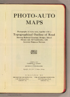 (Title Page to) Photo-auto maps. (New York to Albany and Saratoga Springs, Saratoga Springs to Albany and New York). Photographs of every turn, together with a topographical outline of road showing railroad crossings, bridges, school houses and all landmarks, with accurate distances between. Compiled by Gardner S. Chapin and Arthur H. Schumacher. Copyright, 1907, by G.S. Chapin, Chicago. Published by the Motor Car Supply Co. ... The Automobile Supply Co. ... Chicago, Ill.