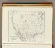 Reduced section of a general map of North America. Drawn from the best surveys. 1795. To accompany Winterbotham's History. Published by John Reid, New York. Lith of J. Bien, 60 Fulton St., N.Y. U.S. Pacific R.R. Exp. & Surveys. Lt. Warren's Memoir Plate I. (1861)