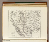 Reduced section of map of North America including all the recent geographical discoveries. 1826. Lith of J. Bien, 60 Fulton St., N.Y. U.S. Pacific R.R. Exp. & Surveys. Lt. Warren's Memoir Plate III. (1861)