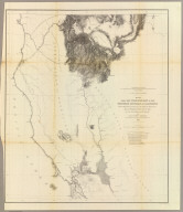 From San Francisco Bay to the Northern Boundary of California from Explorations and Surveys made under the direction of the Hon. Jefferson Davis Secretary of War by Lieut. R.S. Williamson, U.S. Topl. Engrs. and Lieut. H.L. Abbot, U.S. Topl. Engrs., H.C. Fillebrown, J. Young and C.D. Anderson, Assts. 1855. Explorations and surveys for a railroad route from the Mississippi River to the Pacific Ocean. War Department. Routes in Oregon and California. Map No. 1. Drawn by John Young.