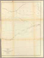 From the Mouth of Trap Creek to the Santa Fe Crossing, from Explorations and Surveys made under the direction of the Hon. Jefferson Davis Secretary of War by Capt. J.W. Gunnison. Topl. Engrs. assisted by Capt. E.G. Beckwith 3d Artillery. R.H. Kern Topographer in the field. Map made under the supervision of Capt. E.G. Beckwith 3d Artillery by F.W. Egloffstein, Topographer for the Route. 1855. Explorations and surveys for a railroad route from the Mississippi River to the Pacific Ocean. War Department. Route near the 38th & 39th Parallels. Map No. 2. Engr. by Selmar Siebert.