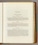 (Contents Page to) Memoir to accompany the Map of the territory of the United States from the Mississippi River to the Pacific Ocean, giving a brief account of each of the exploring expeditions since A.D. 1800, with a detailed description of the method adopted in compiling the general map. By Lieut. Gouverneur K. Warren, Corps of Topographical Engineers, U.S.A. 1859.