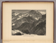 Snow-clad mountains on the river. (1895)