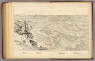 Key to the panorama from Point Sublime--looking east. (1895)