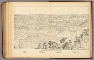 Key to the panorama from Point Sublime--looking west. (1895)
