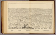 Key to the panorama from Point Sublime--looking south. (1895)