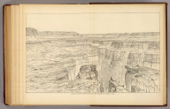 Grand Canyon at the foot of the Toroweap, looking east. (1895)
