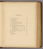 (Contents to) Canyons of the Colorado by J.W. Powell, Ph.D., LL.D., ... With many illustrations. Meadville, Pa. Flood & Vincent. The Chautauqua-Century Press, M DCCC XCV.