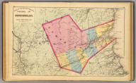 County of Northumberland, New Brunswick. (Drawn on the Rectangular polyconic projection. Drawn and published by Roe Brothers, (A.D. & W.B. Roe). Eng. by Worley & Bracher, Philada. Printed by F. Bourquin, Philada. 1878)