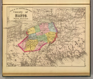 County of Hants, Nova Scotia. (Drawn on the Rectangular polyconic projection. Drawn and published by Roe Brothers, (A.D. & W.B. Roe). Eng. by Worley & Bracher, Philada. Printed by F. Bourquin, Philada. 1878)