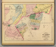 Map of the city of St. John and town of Portland, N.B. (Drawn on the Rectangular polyconic projection. Drawn and published by Roe Brothers, (A.D. & W.B. Roe). Eng. by Worley & Bracher, Philada. Printed by F. Bourquin, Philada. 1878)