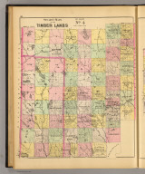 Stuart's map of the timber lands of Maine. No. 4. (1894)