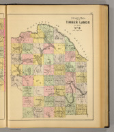 Stuart's map of the timber lands of Maine. No. 5. (1894)