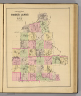 Colby's maps of the timber lands of Maine. No. 2. (1885)