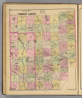 Colby's maps of the timber lands of Maine. No. 4. (1885)