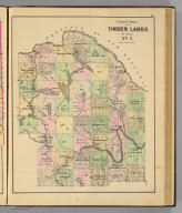 Colby's maps of the timber lands of Maine. No. 5. (1885)
