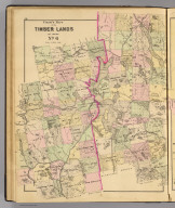 Colby's maps of the timber lands of Maine. No. 6. (1885)