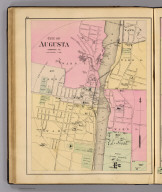 City of Augusta, Kennebec Co. (1885)
